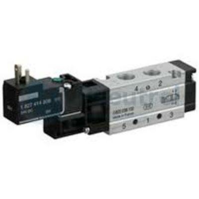 Útszelep elekt. 5/2 G1/8 230VAC WV02 unist. (DIN C nélk.)