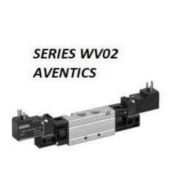 Útszelep elekt. 5/2 G1/8 230VAC WV02 bist. (DIN C nélk.)