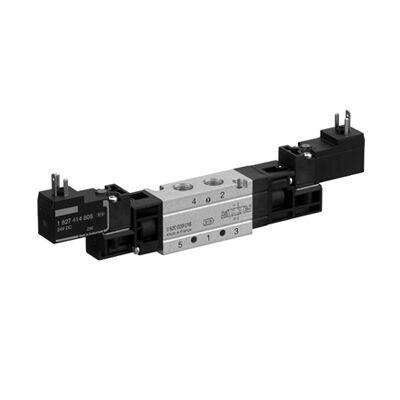 Útszelep elekt. 5/2 G1/8 24VDC WV02 bist. ( DIN C nélk.)