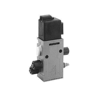 Útszelep elekt. 4/2  24VDC unist. 6mm cs.