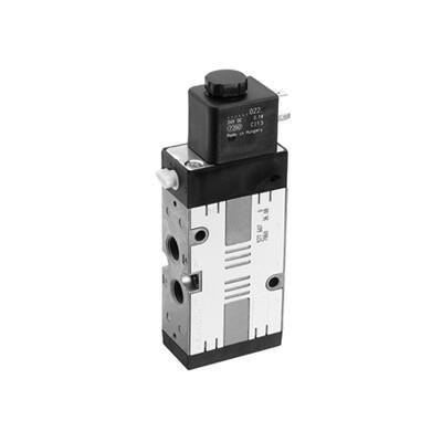 Útszelep elekt. 5/2 G1/4  24VDC  CD7 unistab.