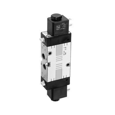 Útszelep elekt. 5/2 G1/4 24VDC CD7 bistab. ( DIN A nélk.)