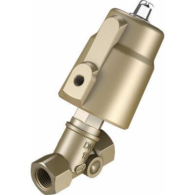 Ferde ülékes szelep VZXF-L-M22C-M-B-G12-120-H3B1-50-16 , G1/2, 16 bar, bronz, NBR, 80 °C