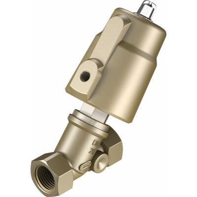 Ferde ülékes szelep VZXF-L-M22C-M-B-G34-160-H3B1-50-16 , G3/4, 16 bar, bronz, NBR, 80 °C