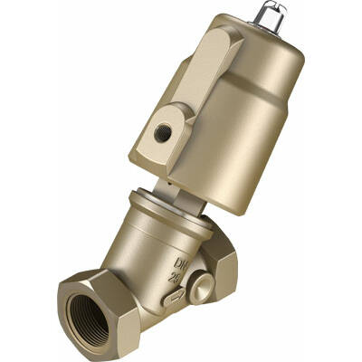 Ferde ülékes szelep VZXF-L-M22C-M-B-G1-230-H3B1-50-10 , G1, 16 bar, bronz, NBR, 80 °C