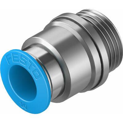 Csatlakozó egyenes QS-G3/8-10-I, belső imbusz