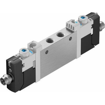 Útszelep el. VUVG-L10-T32C-AT-M7-1R8L, M7, 2x3/2, zárt, monostabil