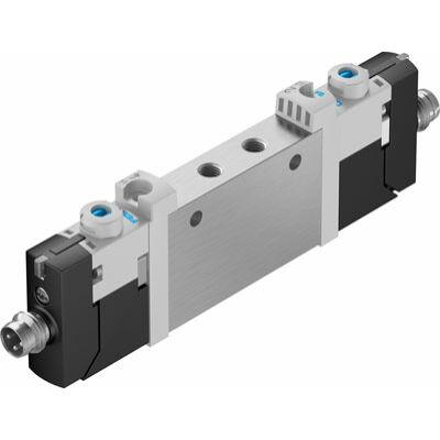 Útszelep el. VUVG-L10-T32C-AT-M5-1R8L, M5, 2x3/2, zárt, monostabil