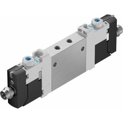 Útszelep el. VUVG-LK10-T32C-AT-M5-1R8L-S, M5, 2x3/2, zárt, monostabil