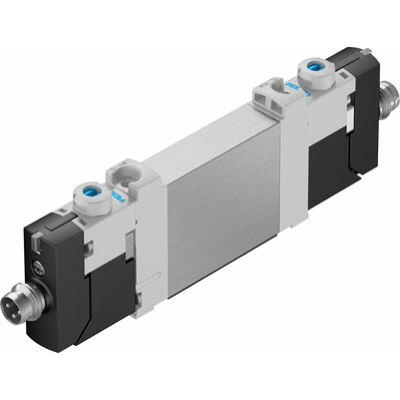Útszelep el. VUVG-BK10-T32C-AT-F-1R8L-S, 2x3/2, zárt, monostabil