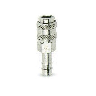 Gyorscsatlakozó tömlővéges 6 mm mini