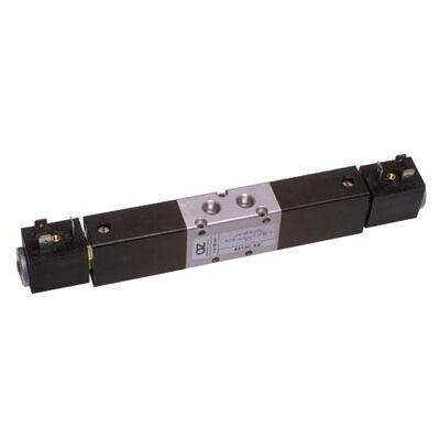 Útszelep elekt. 5/3 G1/8 bistabil alapszelep kh.zárt
