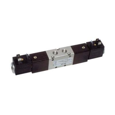Útszelep elekt. 5/2 G1/8 bist. 230VAC + stek.