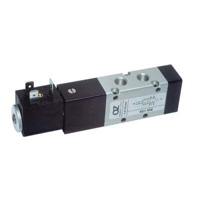 Útszelep elekt. 5/2 G1/8 unist. 24VDC tek.+stek.