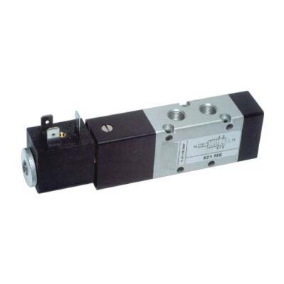 Útszelep elekt. 5/2 G1/4 unist. 24VDC +stek.