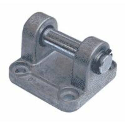 Henger felfogás, csapágybak tengellyel, ISO6431, 32 mm-es hengerhez