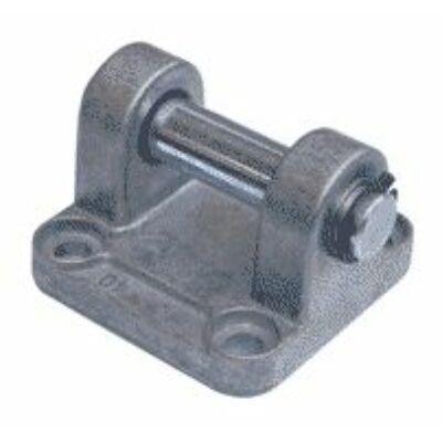 Henger felfogás, csapágybak tengellyel, ISO6431, 63 mm-es hengerhez