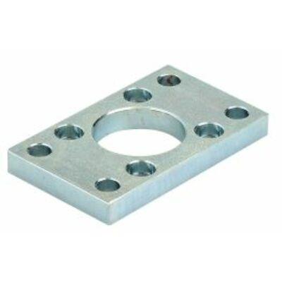 Henger felfogás, felerősítő perem, ISO6431, 40 mm-es hengerhez