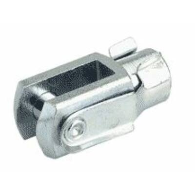 Dugattyúrúdvég, villásfej tengellyel, 40 mm hengerhez, M12x1,25