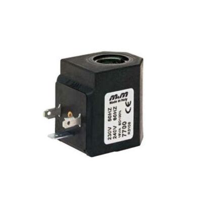 Mágnestekercs  24VDC, 22W, gőz