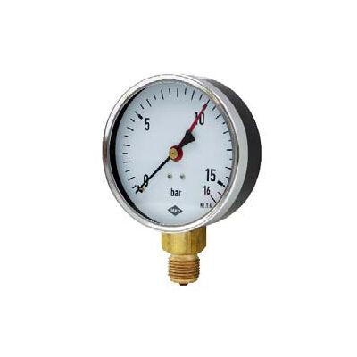 Manométer  100 mm 0-16  bar G1/2