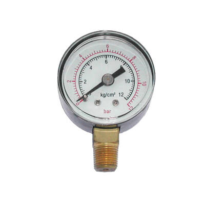 Manométer a.50 mm 0-12  bar G1/4
