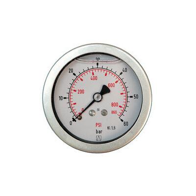 Manométer gh.63 mm  0-10 bar G1/4