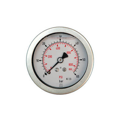 Manométer gh.63 mm  0-40 bar G1/4