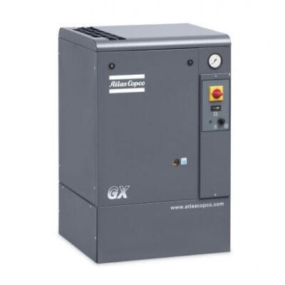 Csavarkompresszor GX7 (7,5 kW, 840 liter/perc) alapkereten
